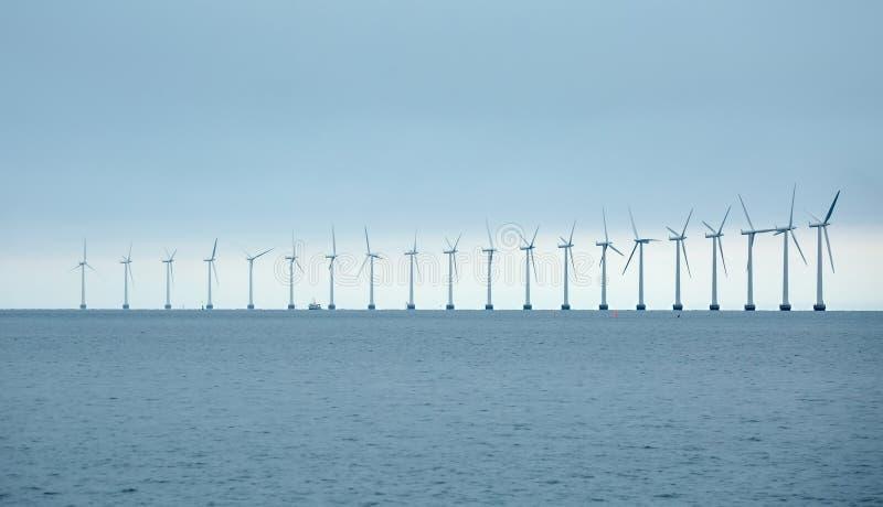 Tubines del viento imagen de archivo libre de regalías