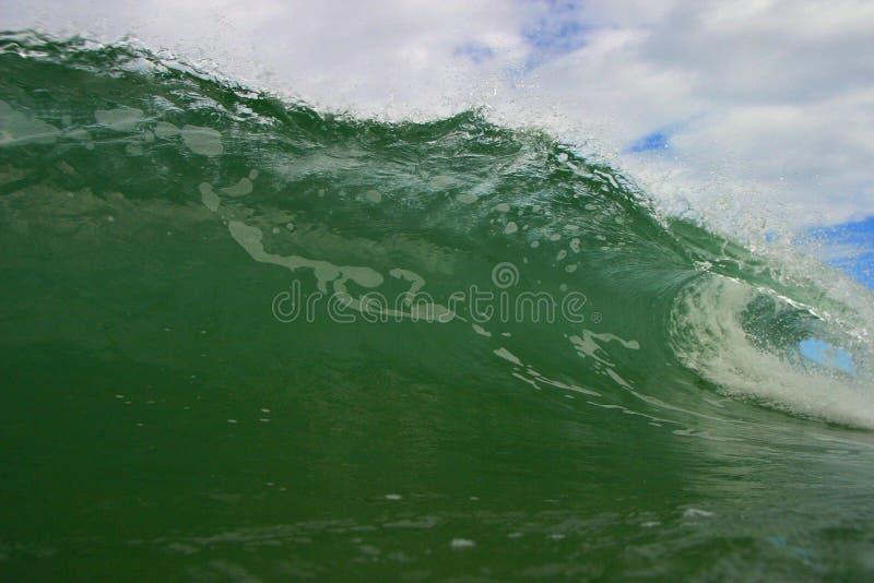 Download Tubing Ocean Wave In Costa Rica Stock Photo - Image: 1686742