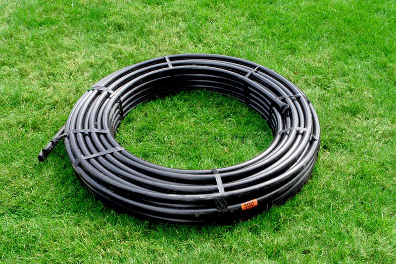 Download Tubing pipe stock image. Image of swing, garden, drainage - 6420649