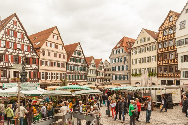 Tubingen, Deutschland stockbild