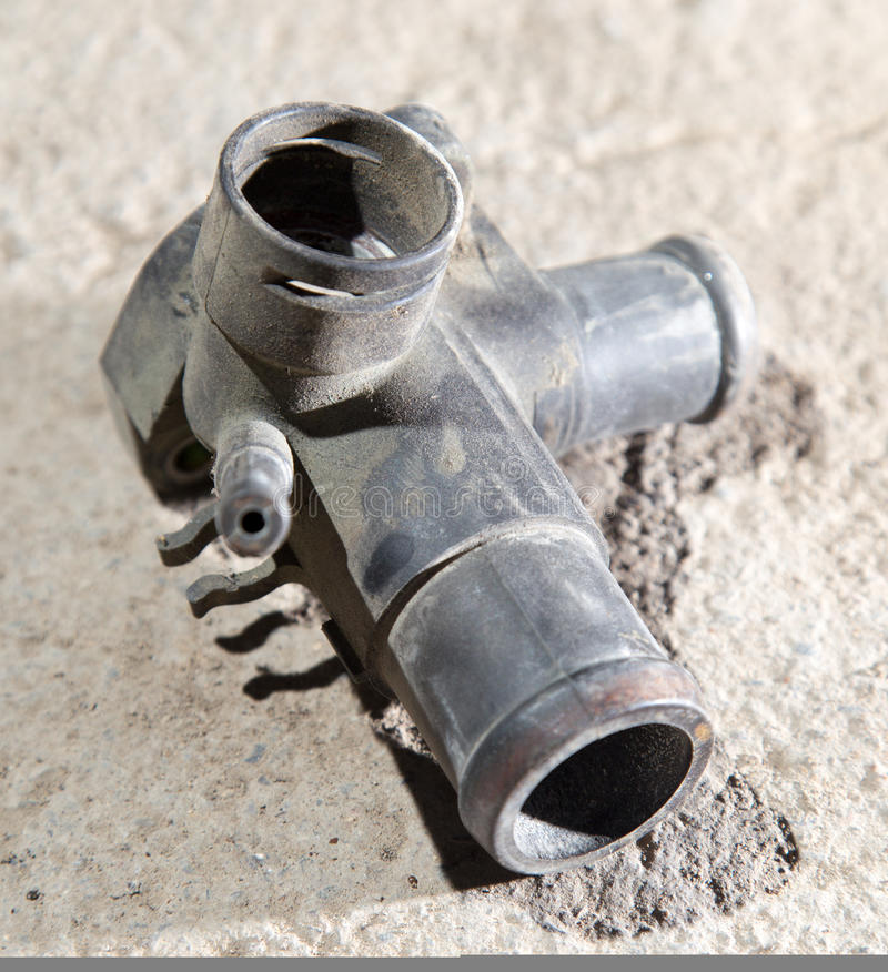 Tubka na pojazdzie mechanicznym zdjęcia stock