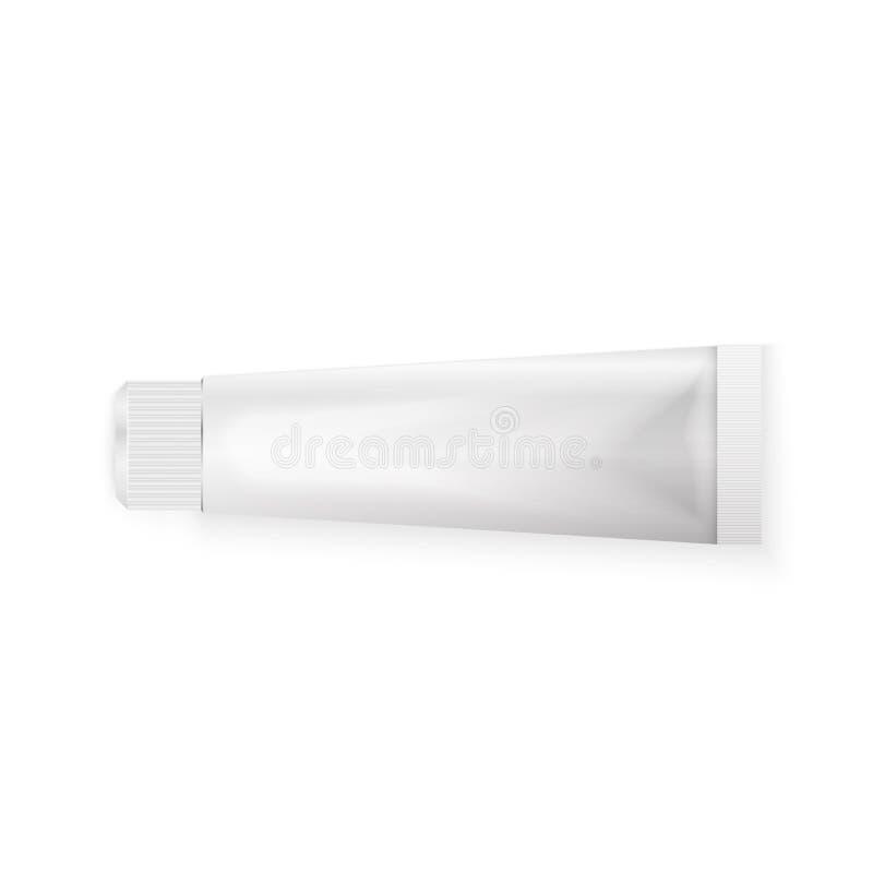 Tubka pasta do zębów ilustracja wektor