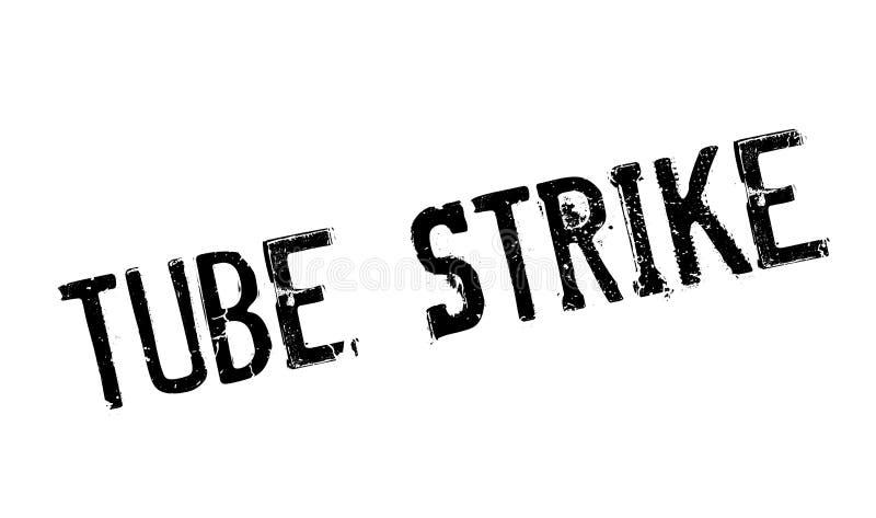 Tubki Strajkowa pieczątka ilustracja wektor