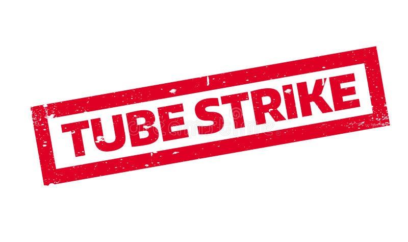 Tubki Strajkowa pieczątka ilustracji