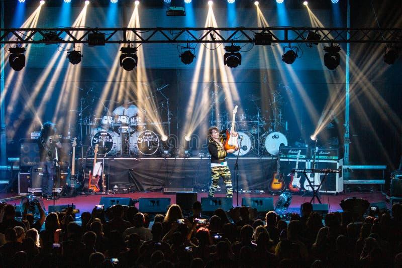 Tublatanka - czeski metalu zesp?? obraz royalty free