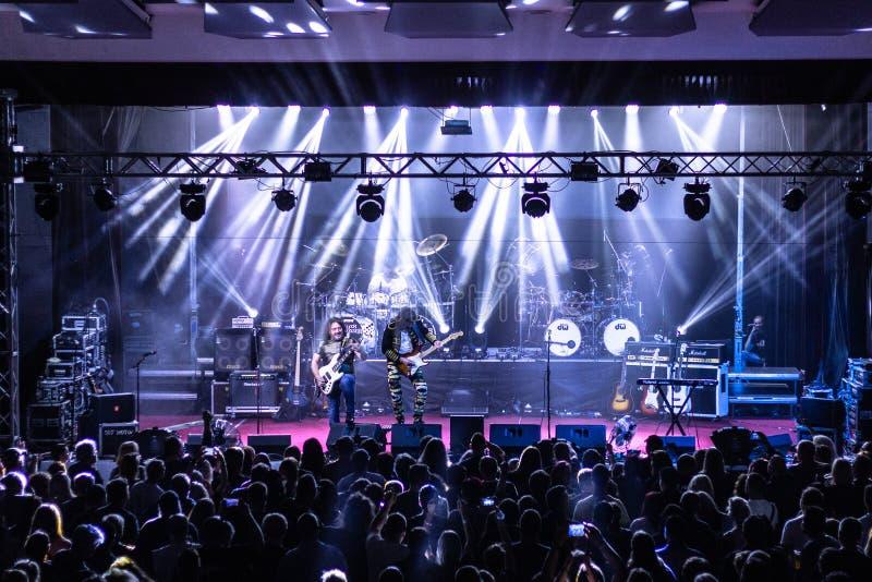 Tublatanka - czeski metalu zesp?? zdjęcia stock