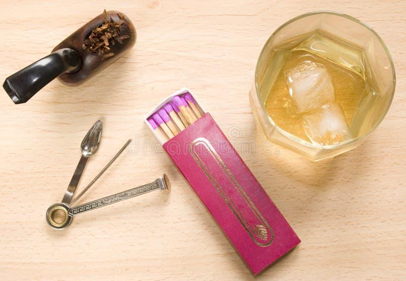 Tubo & whisky immagini stock libere da diritti