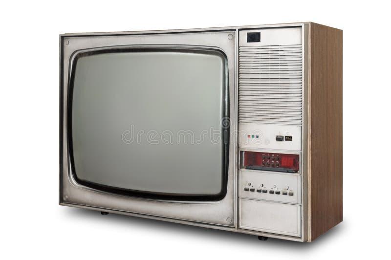 Tubo antiquato TV fotografie stock libere da diritti