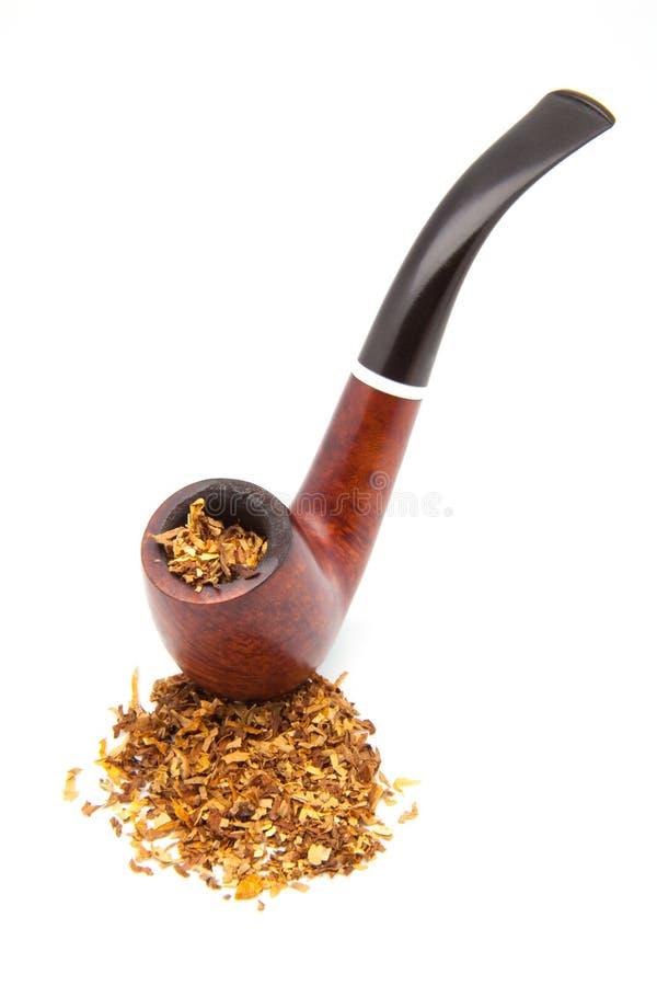 Tubo con tabacco immagine stock libera da diritti