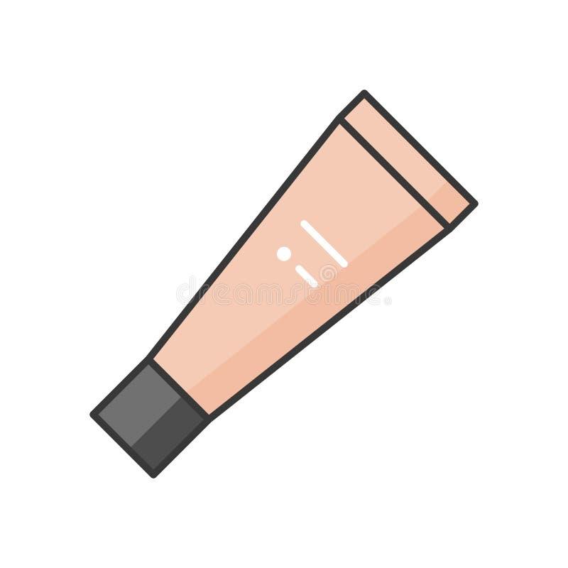 Tubo cosmético ilustração stock