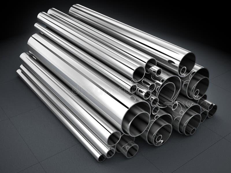 Tubo d'acciaio illustrazione vettoriale
