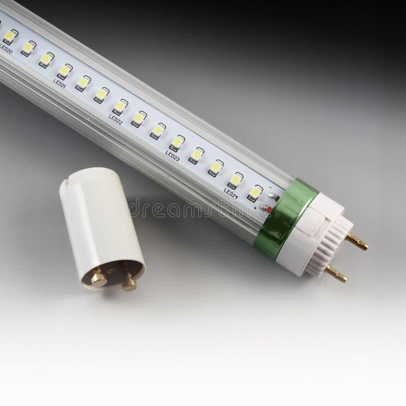 Tubo da luz do diodo emissor de luz foto de stock royalty free