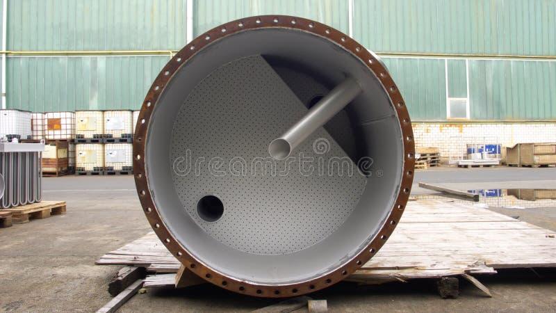 Tubo de acero foto de archivo libre de regalías