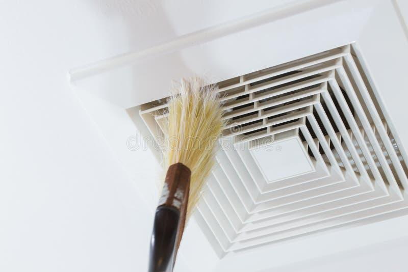 Tubo de aire de limpieza imagen de archivo
