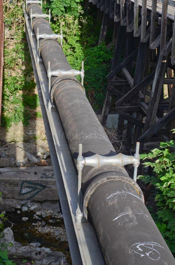 Tubo de desagüe fotografía de archivo