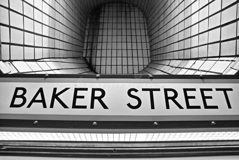 Tubo de la calle del panadero fotos de archivo libres de regalías