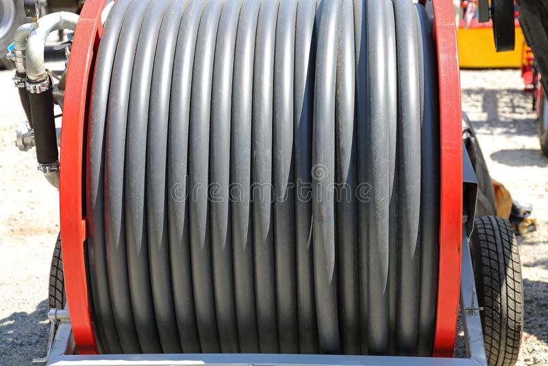 Tubo de la irrigación fotografía de archivo