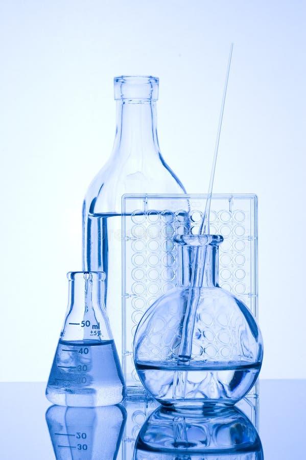 Tubo de prueba químico imagenes de archivo
