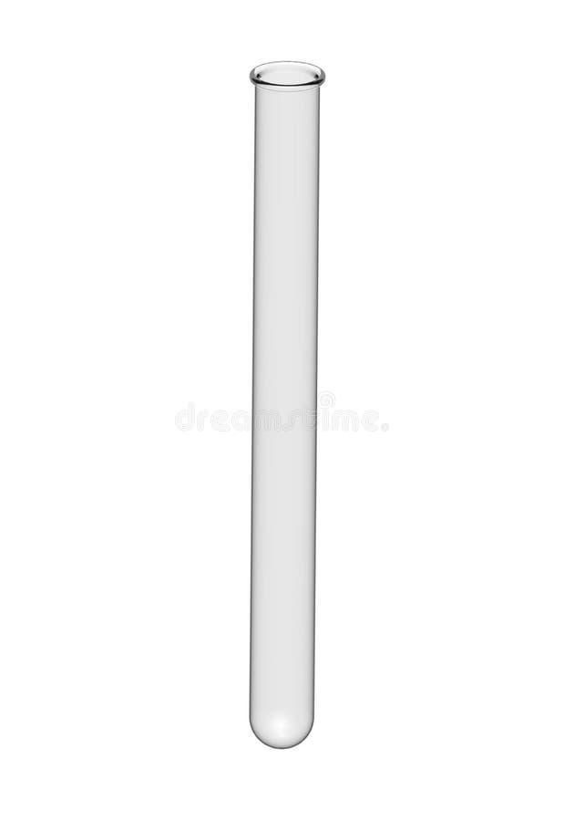 Tubo de prueba vacío libre illustration