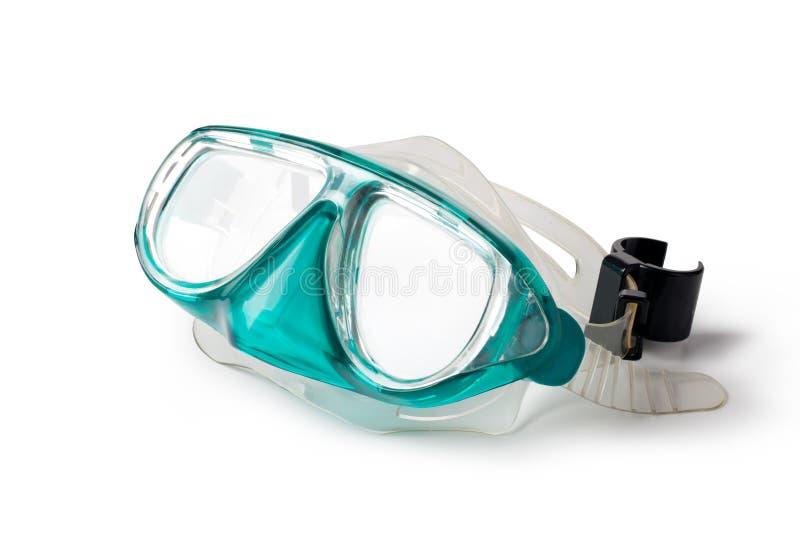 Tubo de respiração e máscara fotos de stock