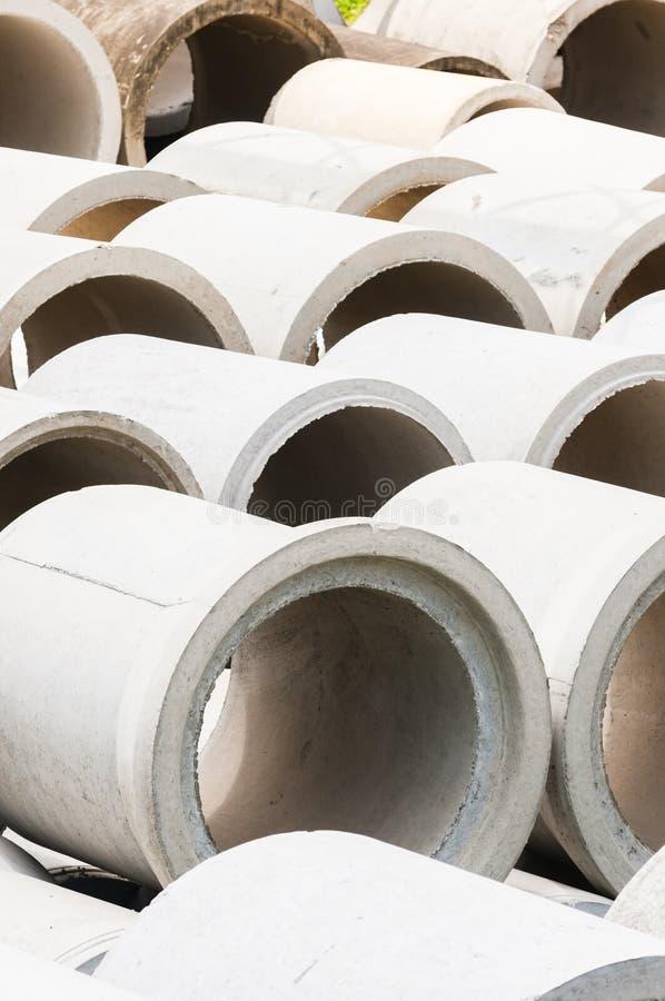 Tubo del cemento foto de archivo libre de regalías