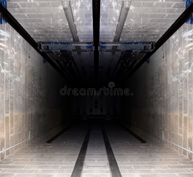 Tubo del elevador foto de archivo libre de regalías