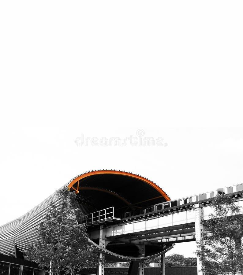 Tubo del subterráneo imagen de archivo