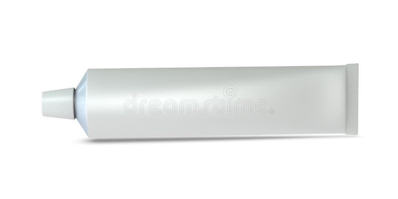 Tubo di dentifricio in pasta illustrazione di stock