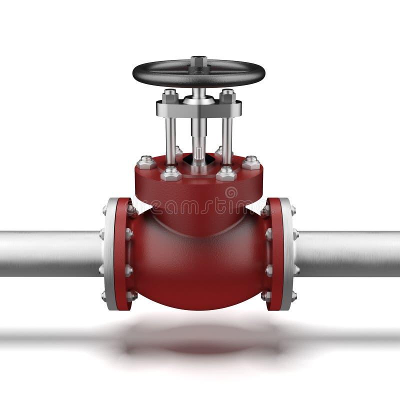 Tubo di gas royalty illustrazione gratis