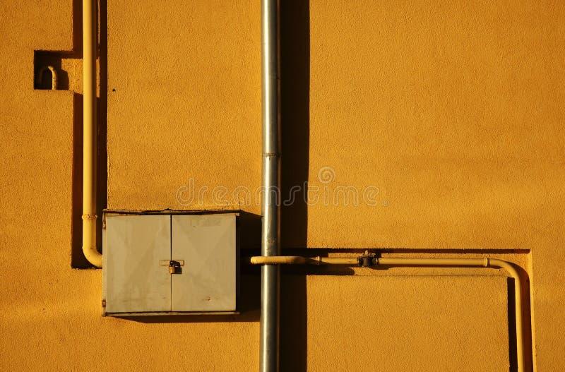 Tubo di gas fotografie stock libere da diritti
