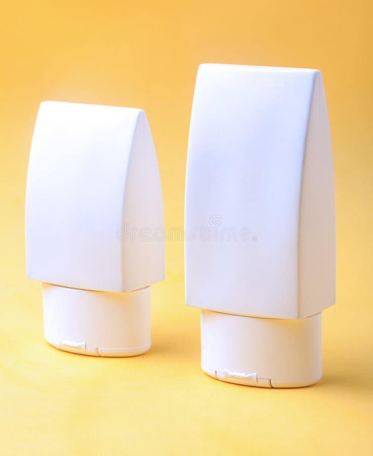 Tubo di plastica bianco fotografia stock libera da diritti