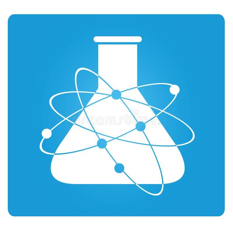 Tubo di scienza royalty illustrazione gratis