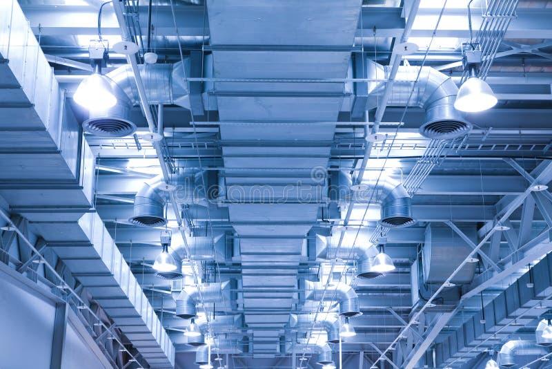 tubo di ventilazione di un termine dell'aria per l'ENV fresco fotografie stock