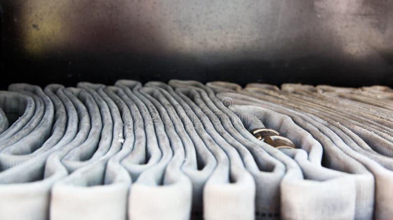 Tubo flessibile del vigile del fuoco fotografia stock libera da diritti