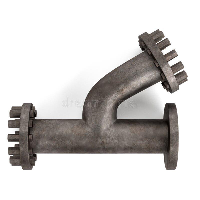 Tubo industriale illustrazione di stock
