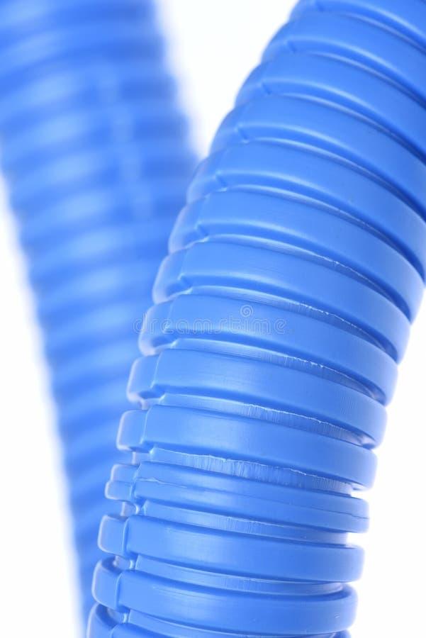 Tubo ondulato flessibile di plastica immagini stock libere da diritti