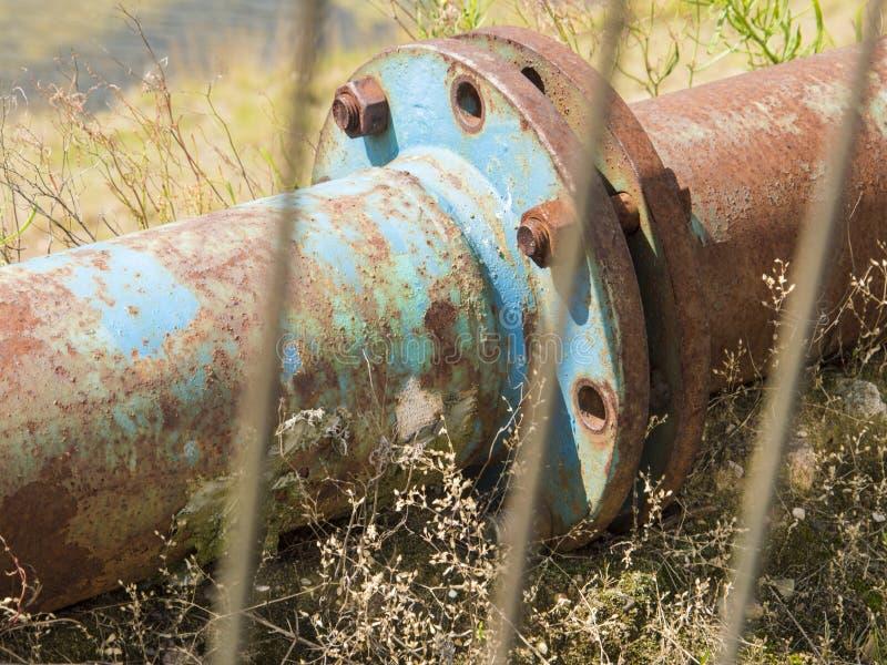 Tubo oxidado fotografía de archivo libre de regalías