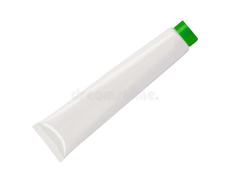 Tubo plástico para los cosméticos fotografía de archivo libre de regalías