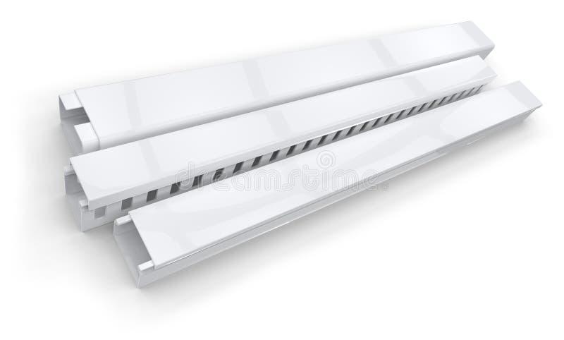 Tubo protettivo per conduttori di plastica immagini stock libere da diritti