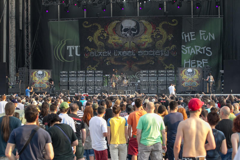 Download Tuborg Green Fest editorial photography. Image of sound - 25638592