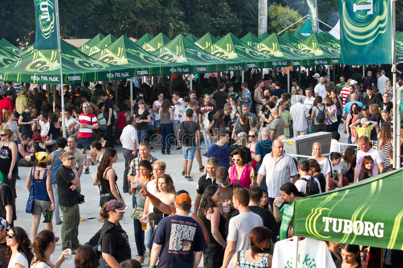 Tuborg Green Fest Editorial Photography