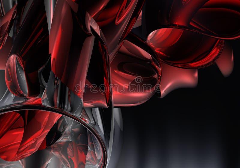 Tubos 02 de Red&chrom stock de ilustración