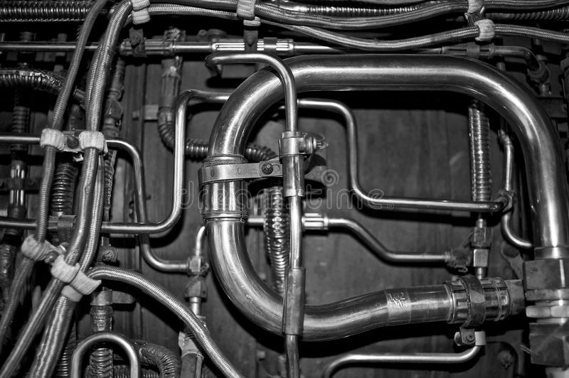 Tubos foto de archivo libre de regalías