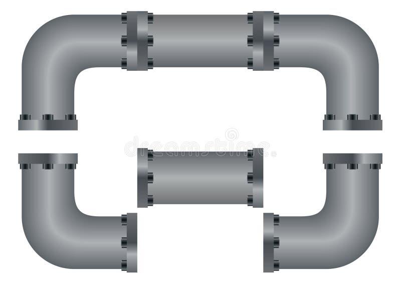 Tubos ilustración del vector