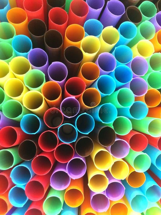 Tubos coloridos imagen de archivo libre de regalías