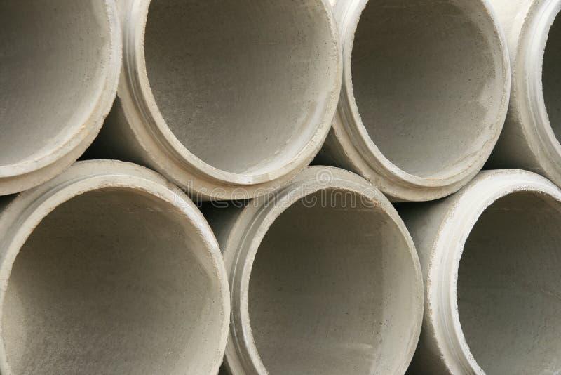 Tubos concretos abstractos imagen de archivo