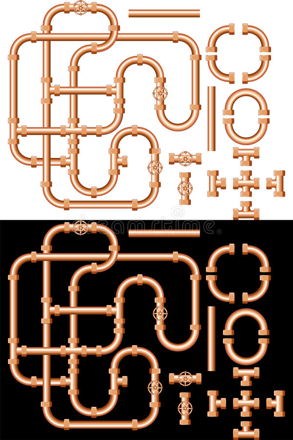 Tubos de agua libre illustration