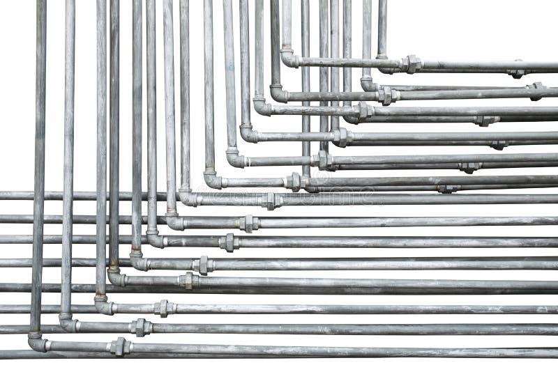 tubos de agua viejos imágenes de archivo libres de regalías