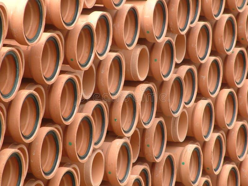 Tubos De Arcilla Fotografía de archivo