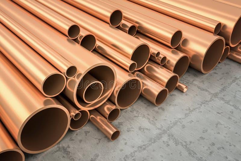 Tubos de cobre libre illustration